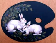 Bunnies and Berries - Ronnie Bringle